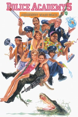 Police Academy 5: Assignment Miami Beach keyart