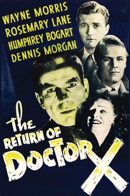 Return of Doctor X keyart