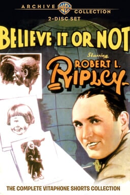 Ripleys Believe It or Not 1930-32 keyart
