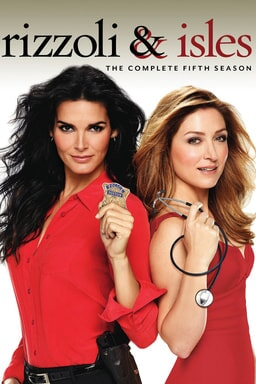 Rizzoli and Isles: Season 5 keyart