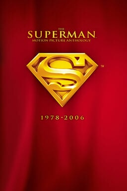 Superman: Motion Picture Anthology 1978-2006 keyart