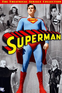 Superman Theatrical Serials: 1948 and 1950 Collection keyart