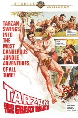Tarzan and the Great River keyart