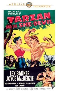 Tarzan and the She-Devil keyart