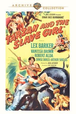 Tarzan and the Slave Girl keyart