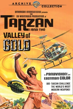 Tarzan and the Valley of Gold keyart