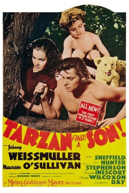 Tarzan Finds a Son keyart