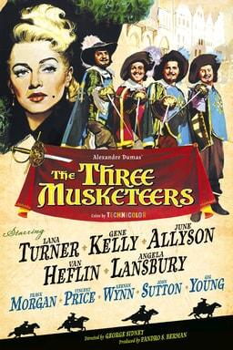 Three Musketeers keyart