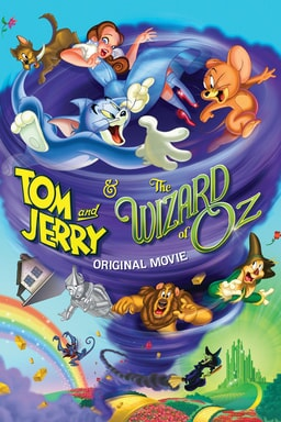 Tom and Jerry and the Wizard of Oz keyart