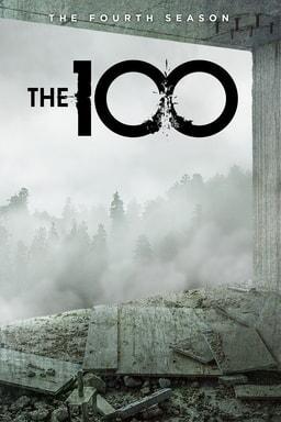 the 100: season 4 poster