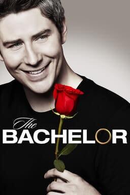 Arie Luyendyk Jr. holding a rose on The Bachelor Season 22 poster