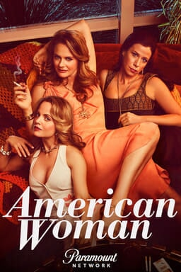 Cast of American Woman lounging and holding cigarettes