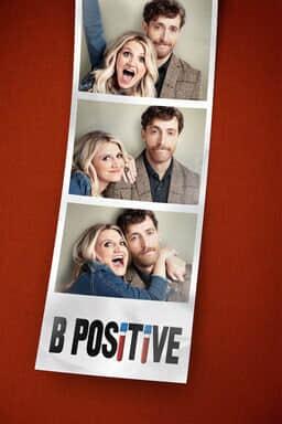 B Positive: Season 1 - Annaleigh Ashford as Gina and Thomas Middleditch as Drew in a photo strip
