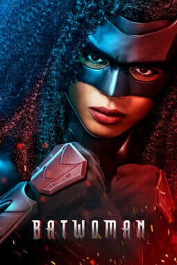 Batwoman: Season 2 - Javicia Leslie in fists looking firm with bat woman mask on face
