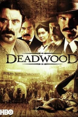 Deadwood - Brown Ambient with Cast - Key Art
