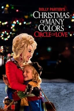 Dolly Parton's Christmas of Many Colors: Circle of Love - Holding child in red coat