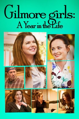 gilmore girls a year in the life poster