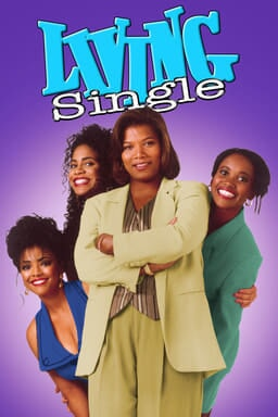 Living Single Complete Series - Key Art