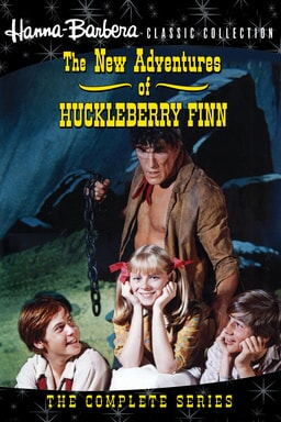 poster for the new adventures of huckleberry finn