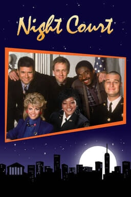 Night Court: The Complete Series - Key Art