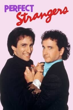 Perfect Strangers: The Complete Series - Key Art