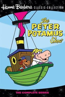 the peter potamus show poster
