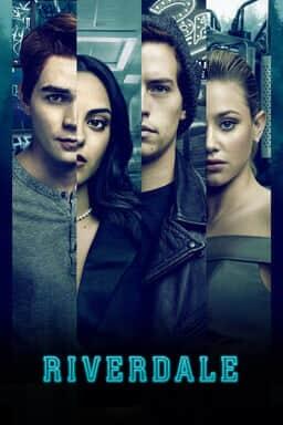 Riverdale: Season 5 - KJ Apa, Camila Mendes, Cole Sprouse, Lili Reinhart in vertical collage