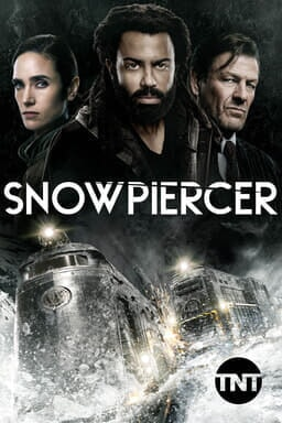 Snowpiercer: Season 2 - Jennifer Connelly, Daveed Diggs and Sean Bean starring intently with train