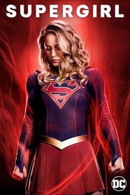 Supergirl: Season 4 - Melissa Benoist as Kara Danvers/ Kara Zor-El/Supergirl in red flames