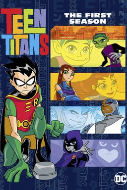 teen titans season 1 poster
