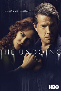 The Undoing: Season 1 - Nicole Kidman and Hugh Grant in black background