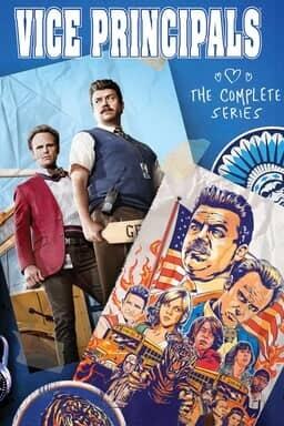 Vice Principals: The Complete Series - Key Art