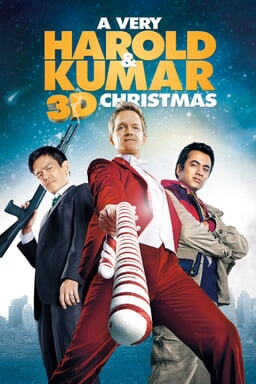 Very Harold and Kumar Christmas keyart