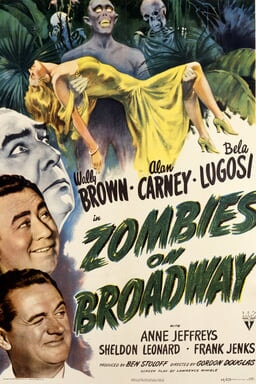 Zombies on Broadway keyart