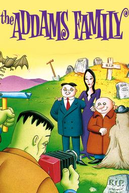 Addams Family Animated keyart