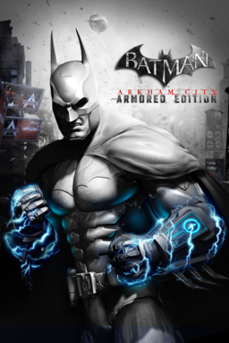 Batman Arkham City: Armored Edition keyart