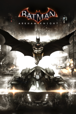 Batman: Arkham Knight keyart