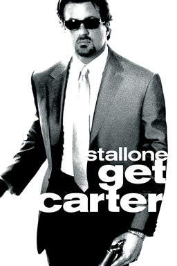 Get Carter: Sylvester Stallone in suit and sunglasses