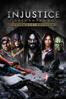 Injustice: Gods Among Us keyart