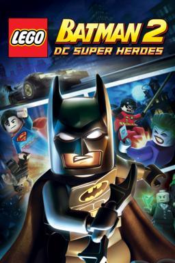 Lego Batman 2: DC Super Heroes keyart