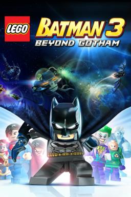 LEGO Batman 3: Beyond Gotham keyart