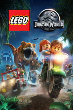 LEGO Jurassic World keyart