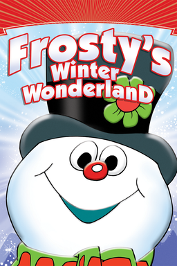 Frosty's Winter Wonderland - Frosty snowman smelling cheerily with the logo on the icon