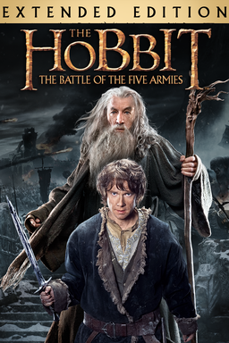 The Hobbit: The Battle of the Five Armies (Extended Edition) - Key Art