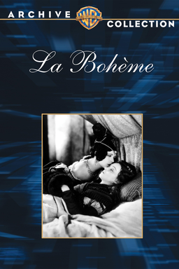 La Boheme - Warner Archive - B&W photo of Renée Adorée kissing forehead of Lillian Gish