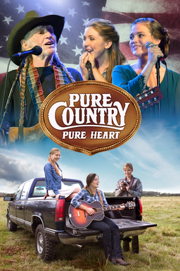 Pure Country: Pure Heart - Ada and Piper Spencer singing with Willie Nelson, and truck at the bottom