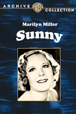 Sunny (1930) - Warner Archive Collection - Marilyn Miller on dark blue background