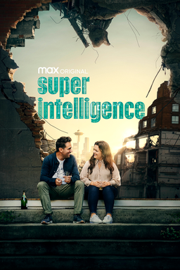 Superintelligence - Melissa McCarthy as Carol Peters sitting on the steps behind a ruined wall