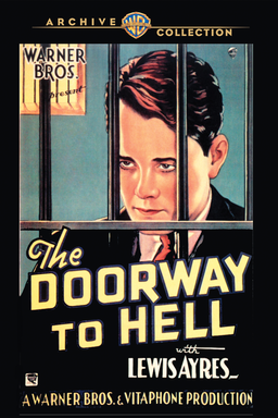 The Doorway To Hell - Warner Acrhive Collection - with Lewis Ayres behind bars - Drawing