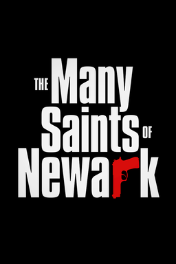 The Many Saints of Newark - Title Treatment with black background